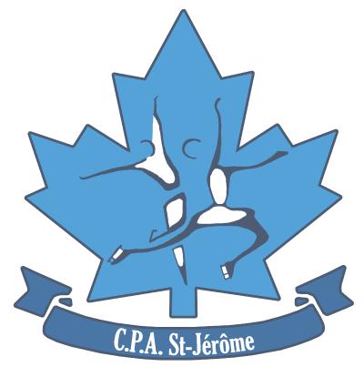 Logo Club de patinage artistique de Saint-Jérôme